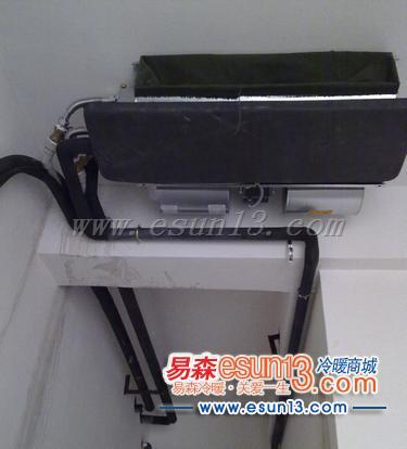 经过最终商讨,我们的暖通设计师为王小姐选定一套水机系统中央空调+壁